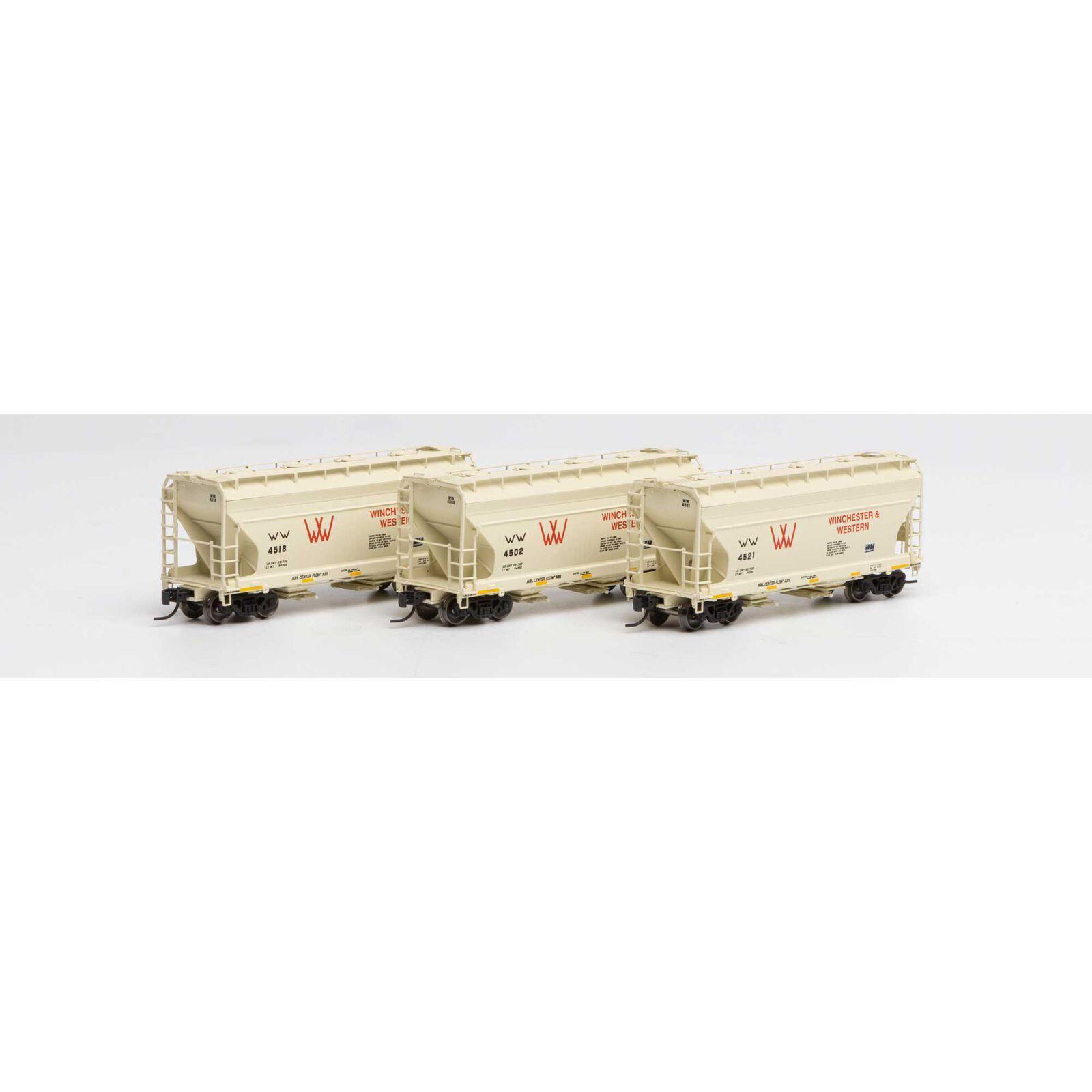 N ACF 2970 Covered Hopper, W&W (3)