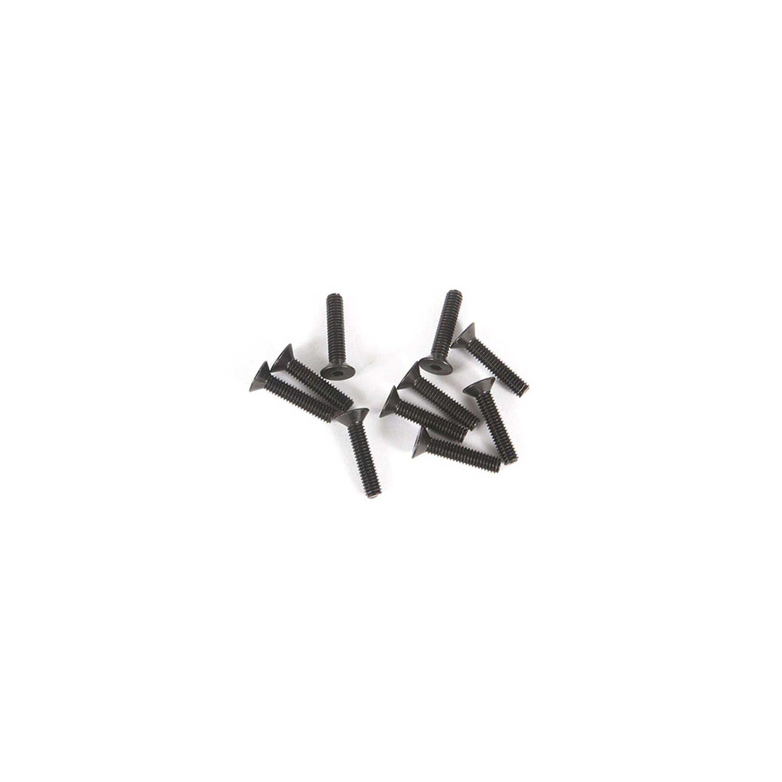 M2.5 x 12mm Flat Head Screw (10)