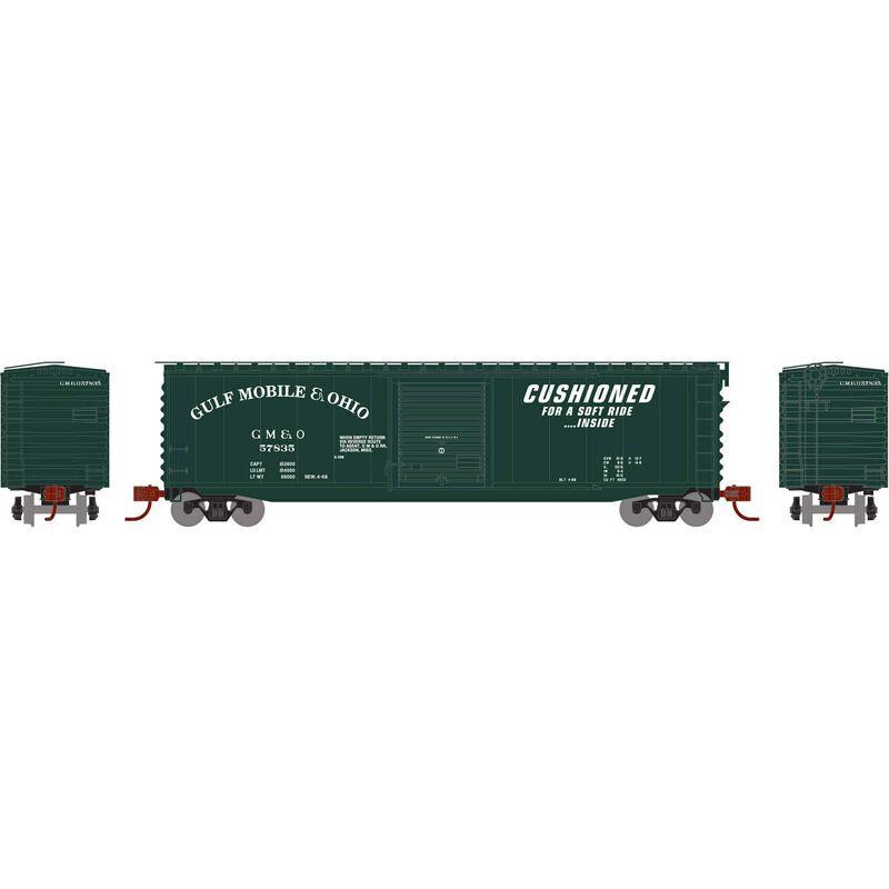 N 50' PS-1 Single Door Box GM&O #57835