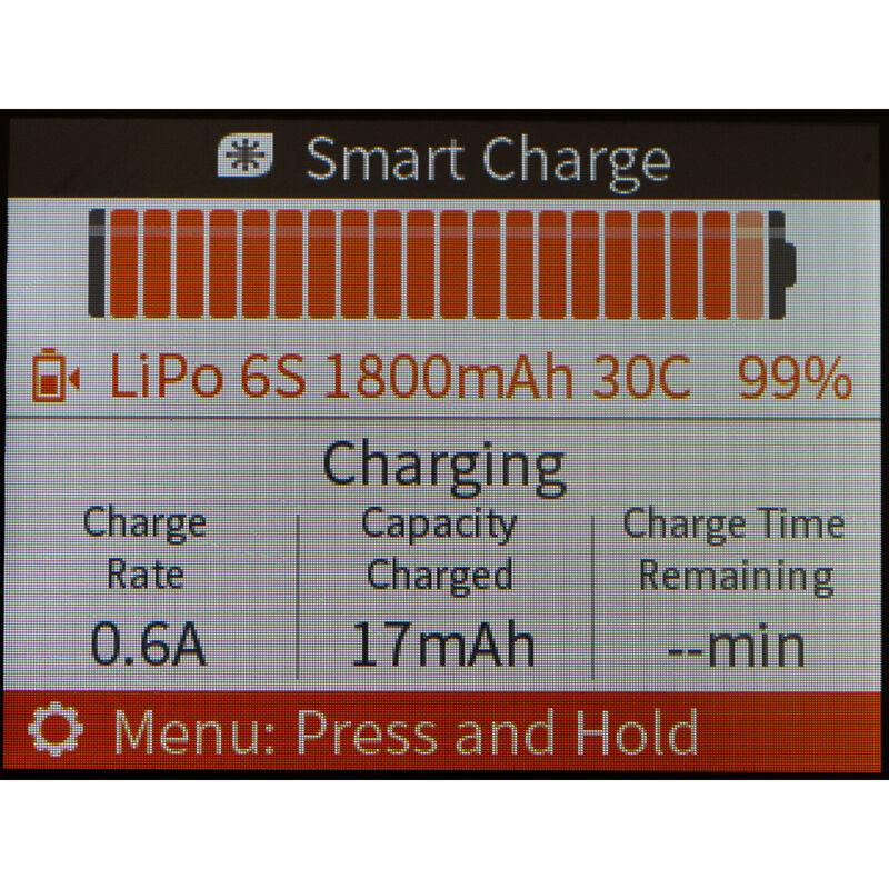 Spektrum Smart S1100 AC Charger 1x100W