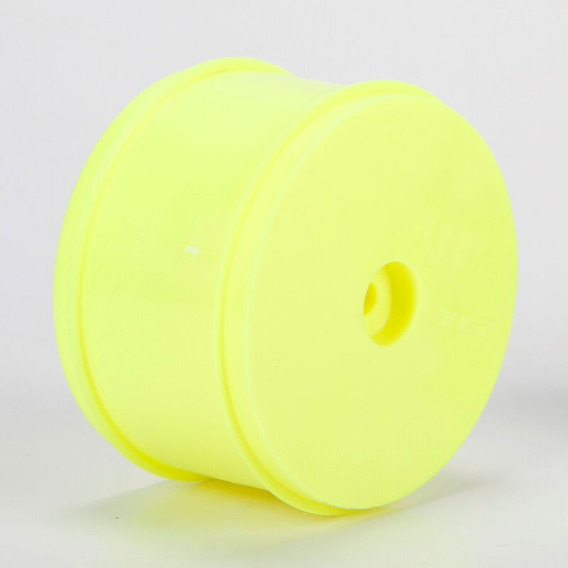 1/10 Front Buggy 61mm Wheels, 12mm Hex, Yellow (2): 22, 22-4