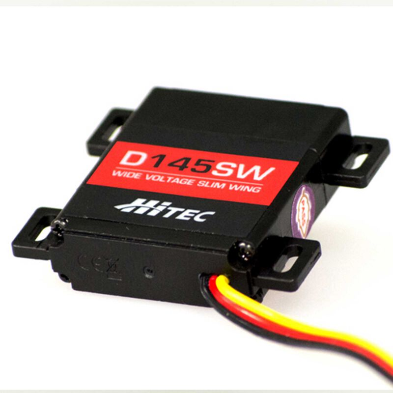 D145SW Thin Digital Voltage Steel Gear Slim Wing Servo