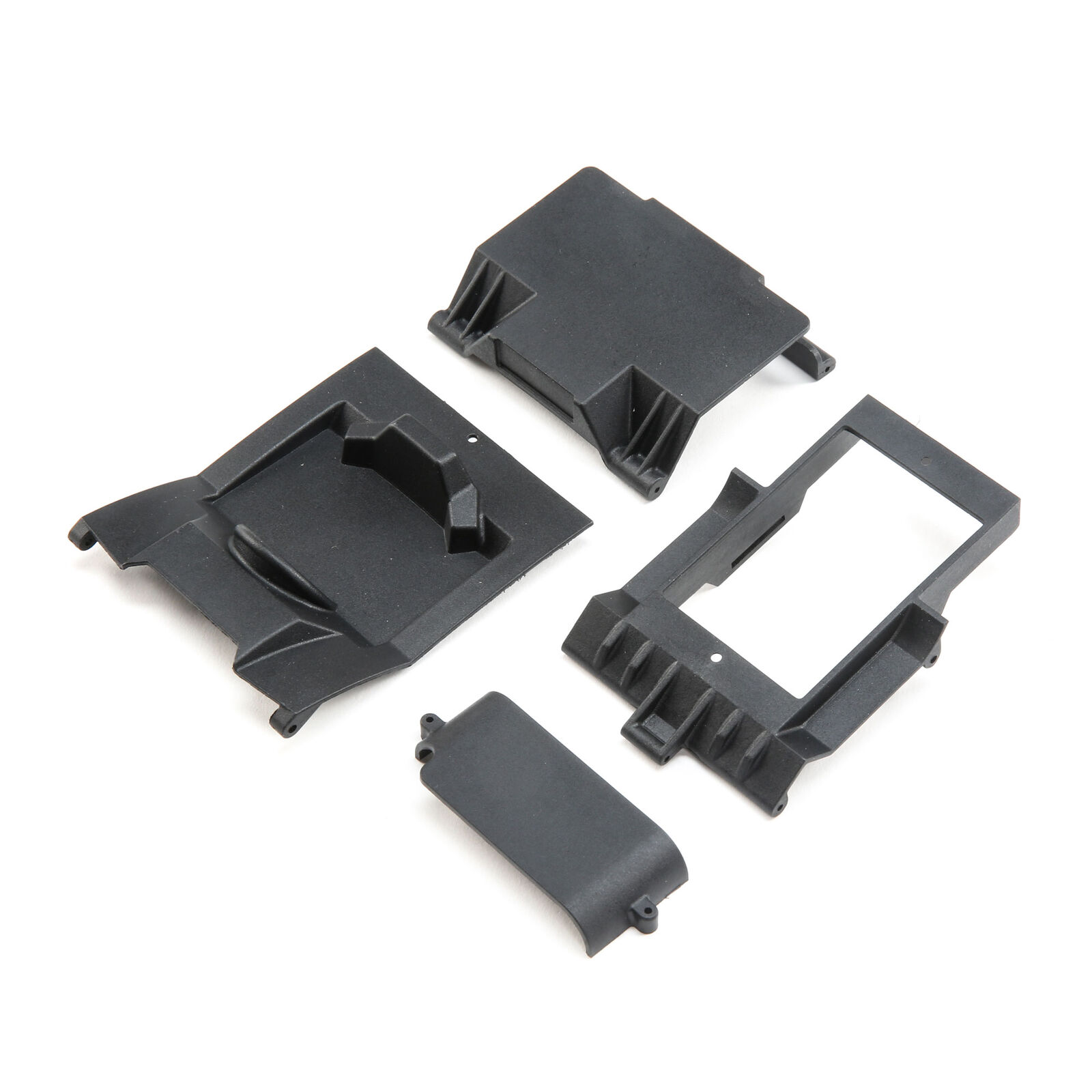 Console and Electronics Tray: 1/18 Temper 4WD Gen 2