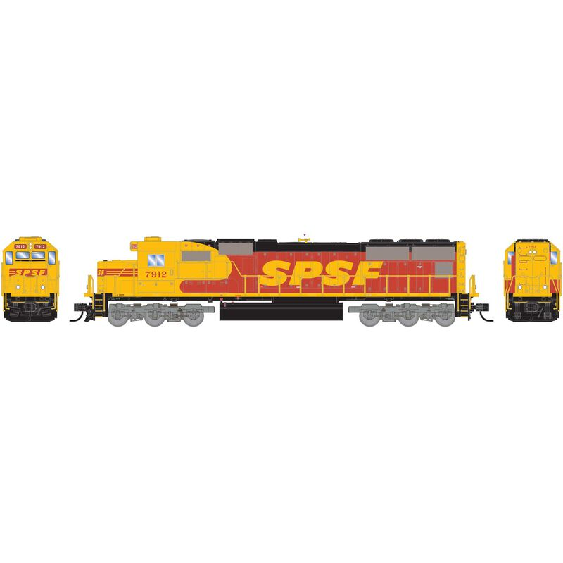 N SD70, SPSF #7912