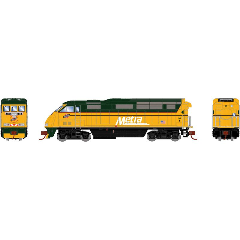 N F59PHI with DCC & Sound, METX #90