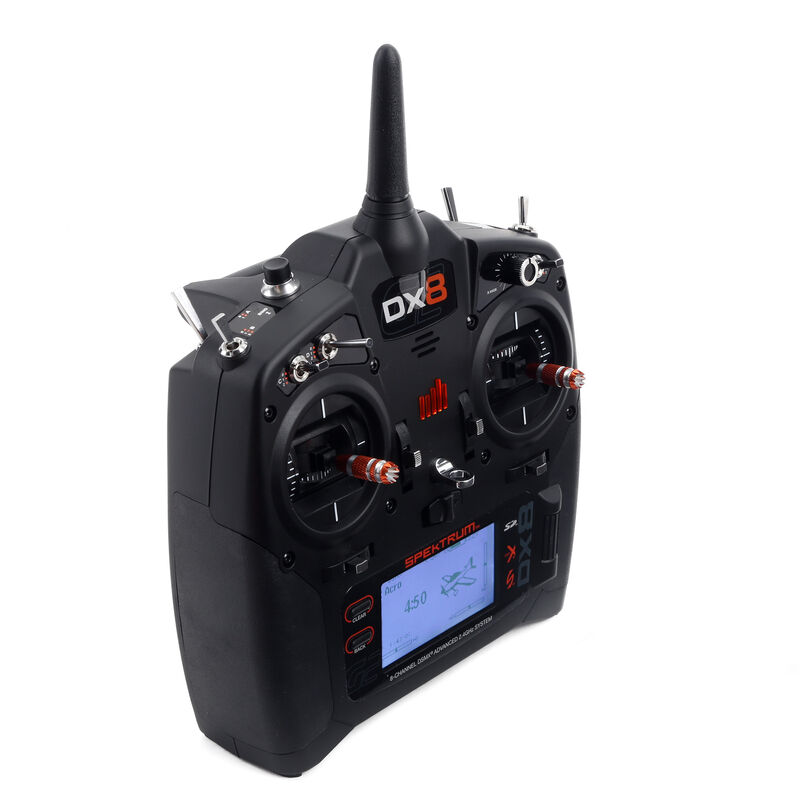DX8 8-Channel DSMX Transmitter Gen 2 with AR8010T