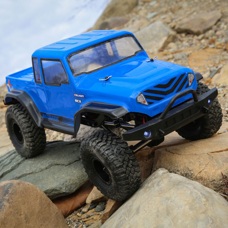 1/12 Barrage Gen2 1.55 4WD Scaler Brushed RTR: Blue