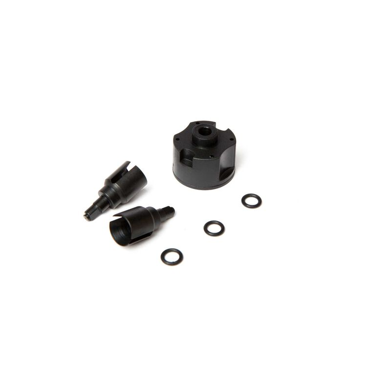 Front/Rear Diff Cases and Outdrive Set (2): 1/10 4wd All