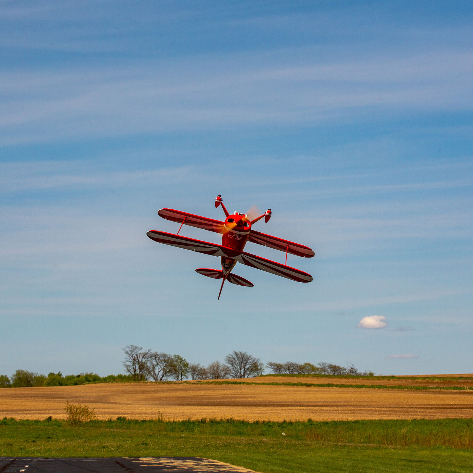 """Pitts S-2B 50-60cc, 71.6"""" with DLE 61cc Gas Engine"""