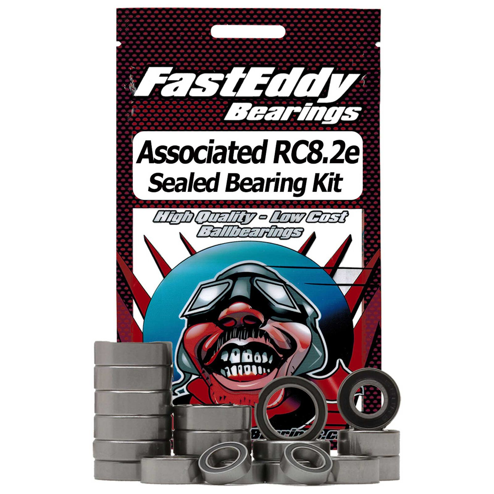 Sealed Bearing Kit: Team Associated RC8.2e