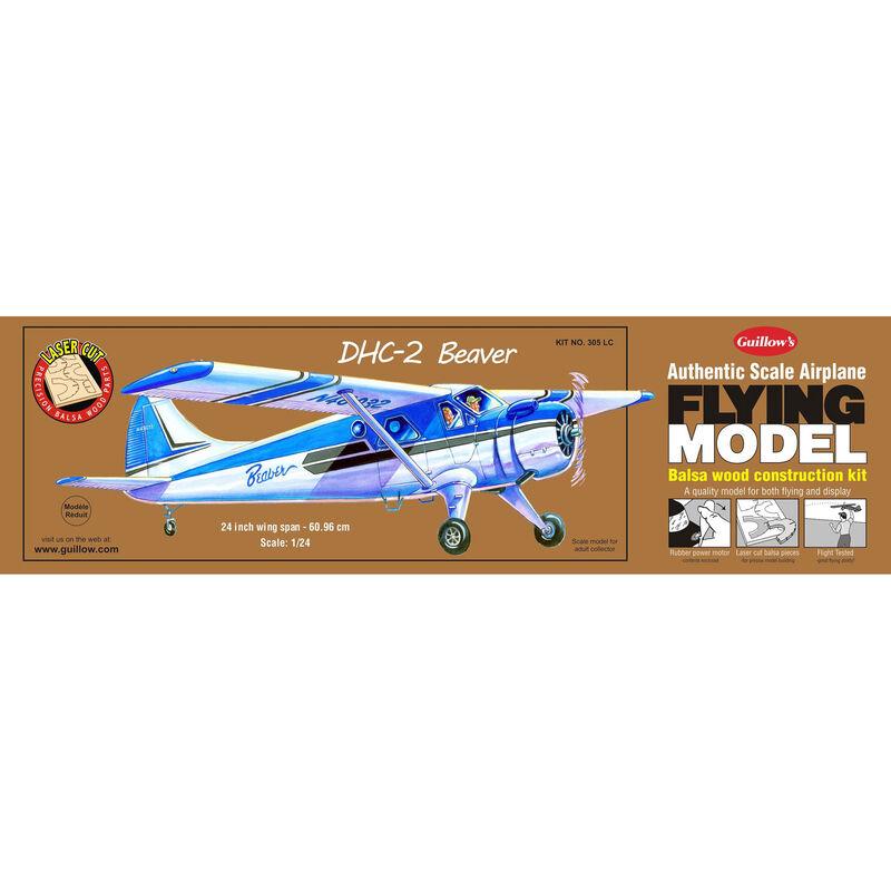 "DHC-2 Beaver Laser Cut Kit, 24"""