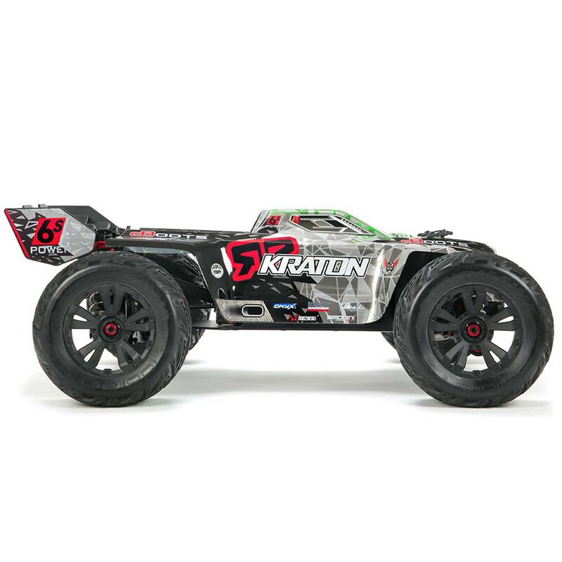 1/8 KRATON 6S BLX 4WD Brushless Monster Truck RTR, Black/Green