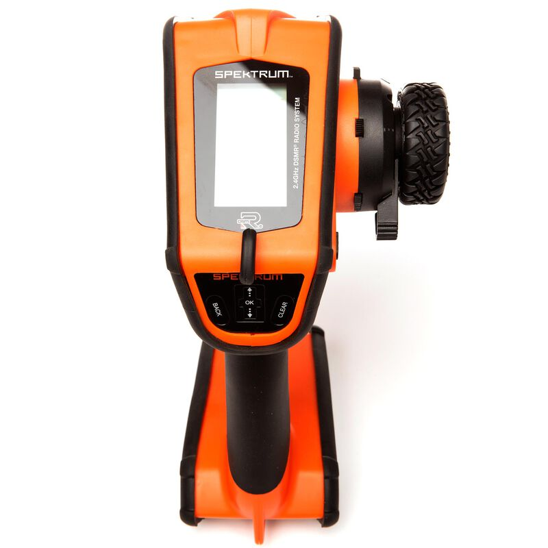 DX5 Rugged 5-Channel DSMR Transmitter Only, Orange
