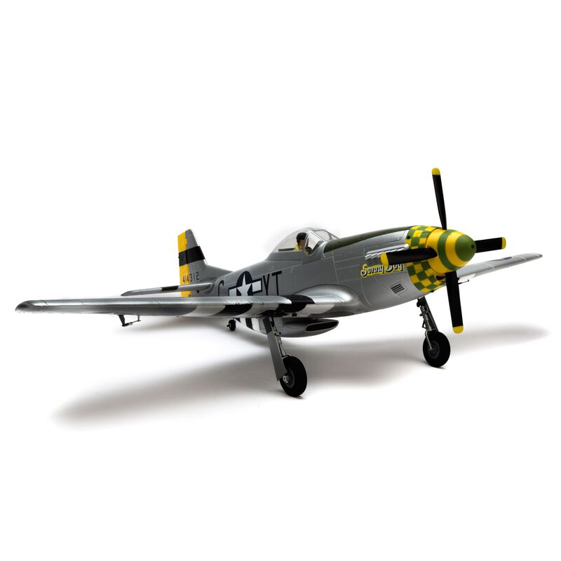 P-51D Mustang 1.1m PNP with Free Spektrum AR620 Receiver