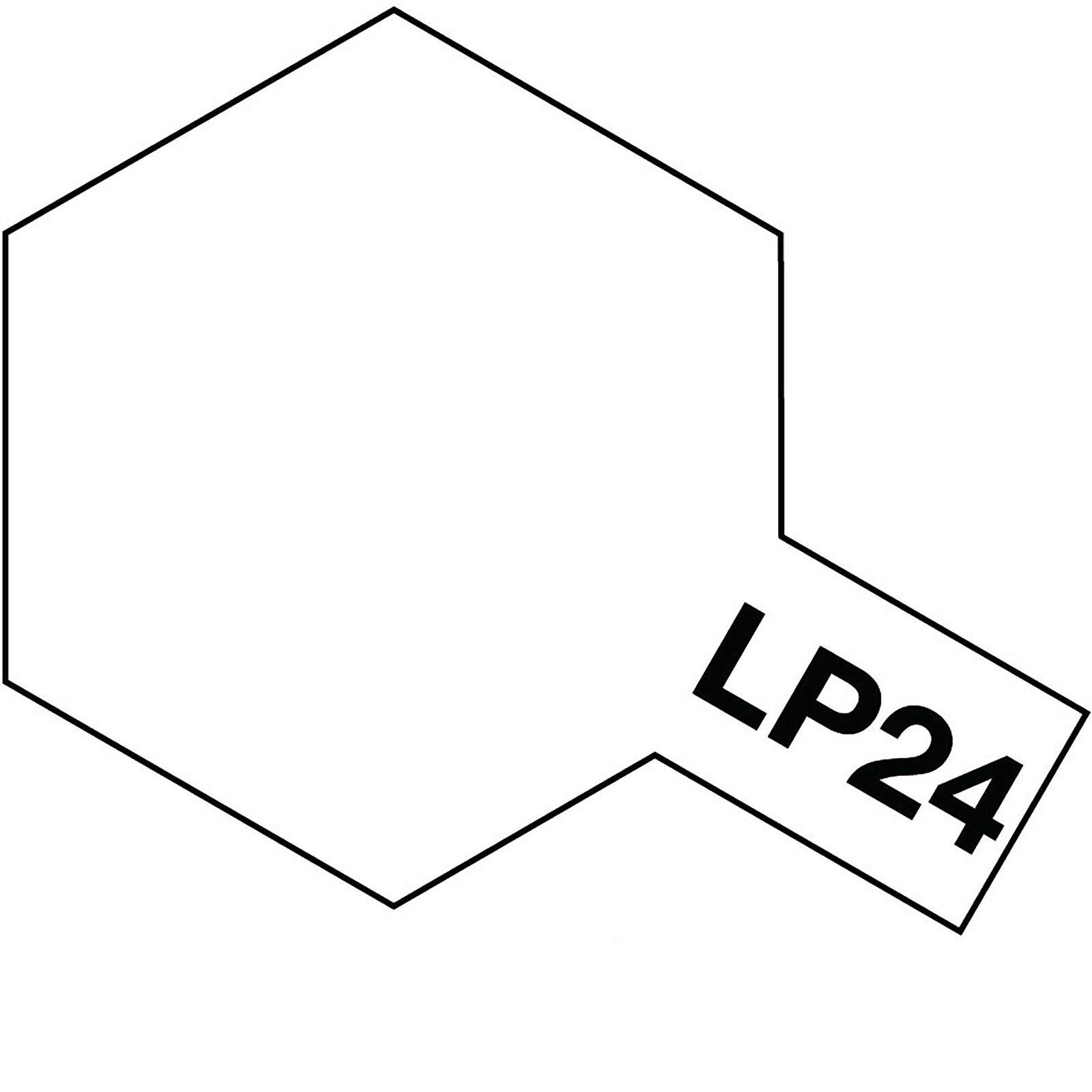 Lacquer Paint, LP-24 Semi Gloss Clear, 10 mL