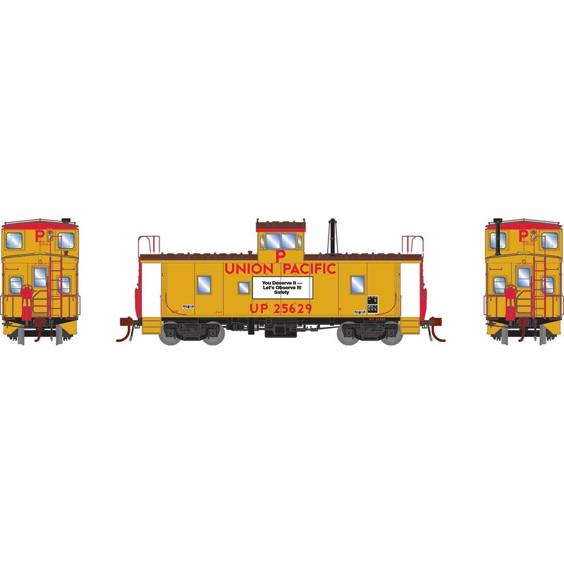 HO CA-9 ICC Caboose with Lights UP #25629