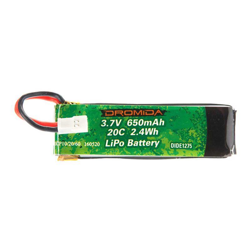 3.7V 650mAh 1S LiPo: Hovershot 120 FPV