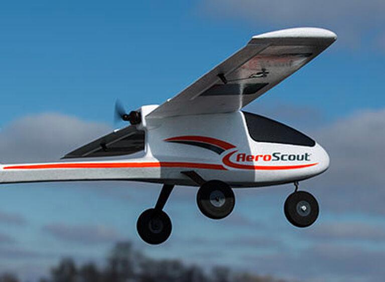 HobbyZone AeroScout S 1.1m RTF and BNF Basic