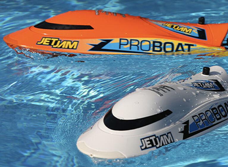 "Pro Boat Jet Jam 12"" Pool Racer Brushed RTR Remote Control Boat"