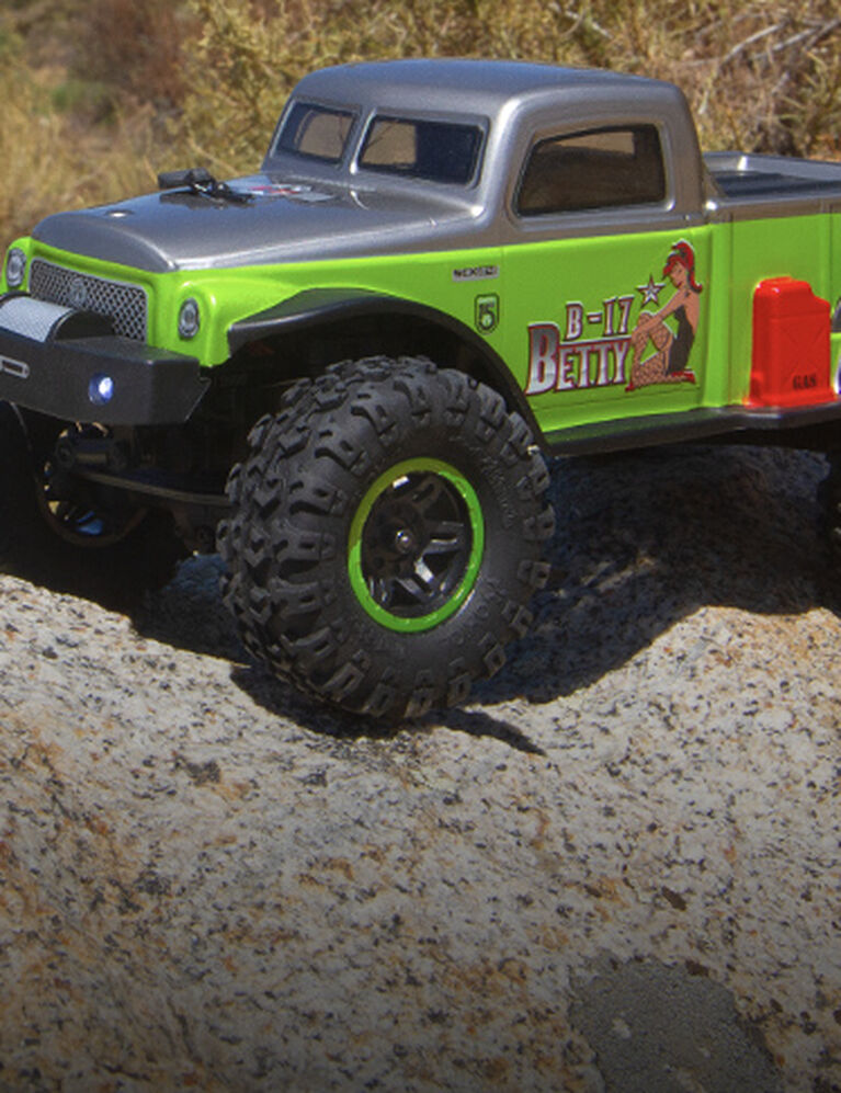 Axial Limited Edition SCX24 B17 Betty RTR