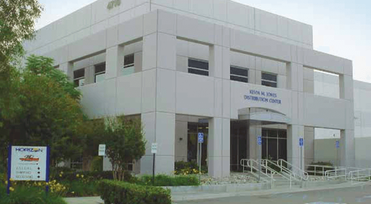 West coast offices in Ontario, California