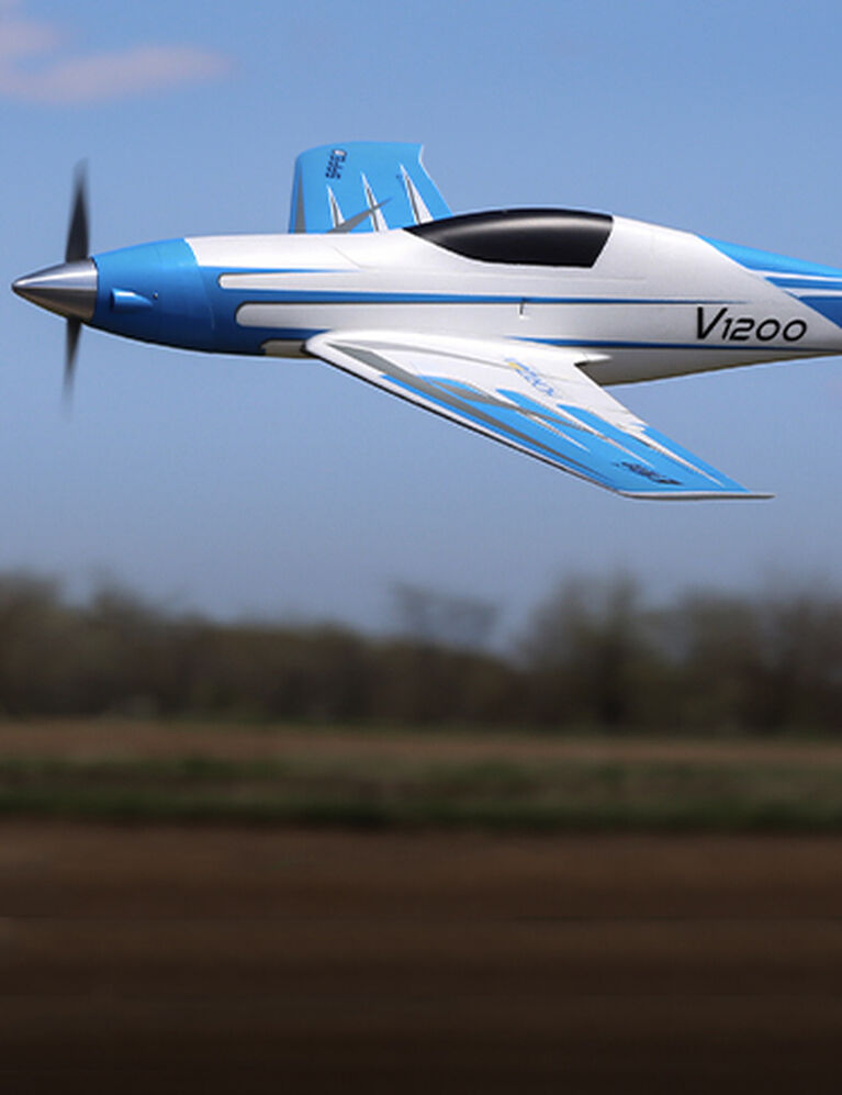 The FASTEST and Smartest prop-driven E-flite® airplane yet