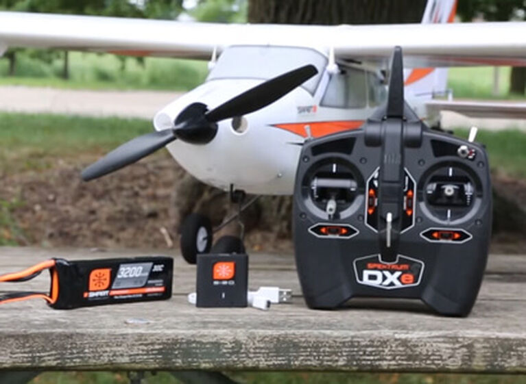 Picture of an E-flite Apprentice Ready-to-Fly RC Plane