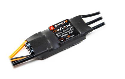 Spektrum Avian Smart 45 Amp ESC included