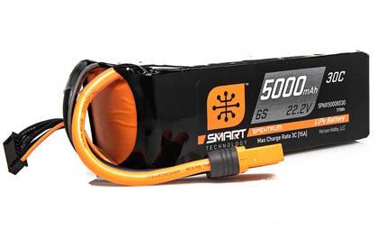 Spektrum Smart 6S 5000mAh LiPo Battery