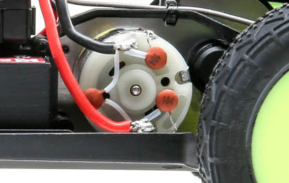 Mittelmotor-Konfiguration
