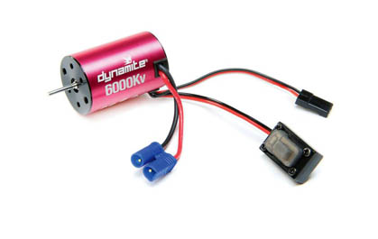 Brushless Motor/ESC 2-in-1 Combo