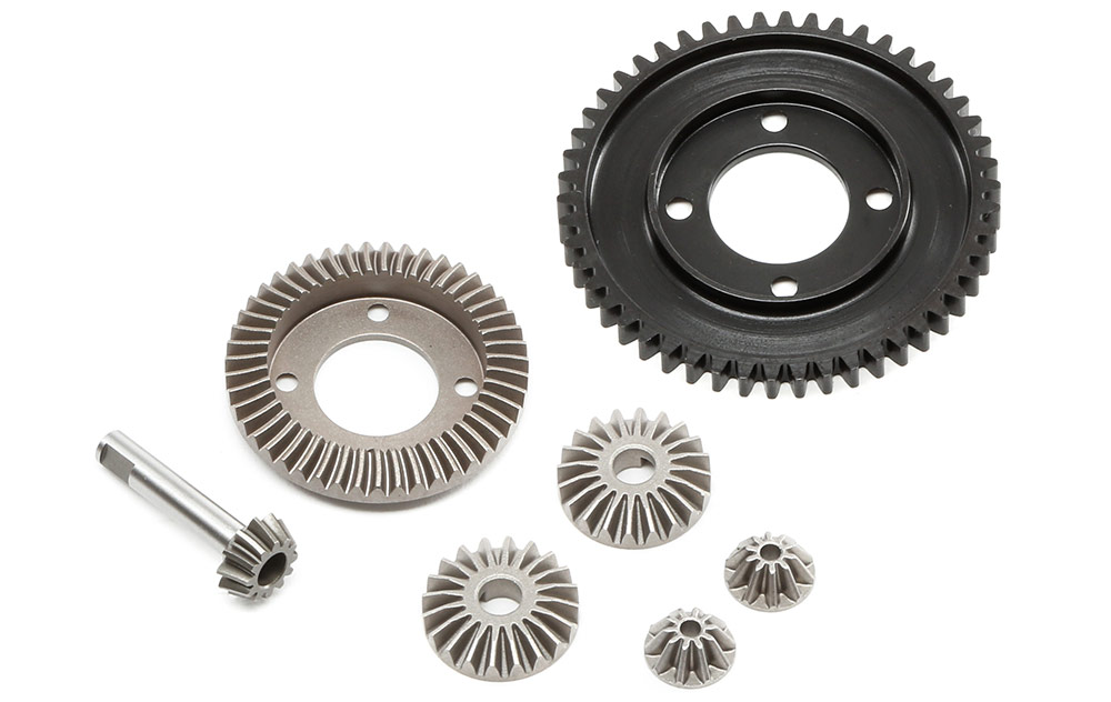 Metal-Gear Drivetrain and Sealed Differentials