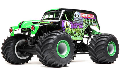 Licensed Grave Digger Monster Truck