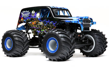 Licensed Son Uva Digger Monster Truck