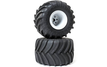 Scale Monster Truck Tire