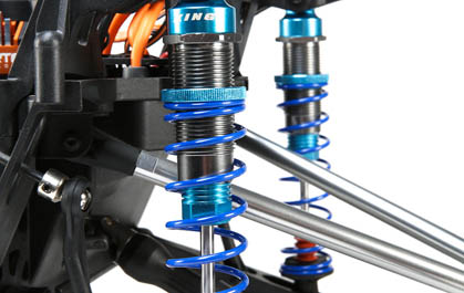 Coil-Over Oil Filled Shocks