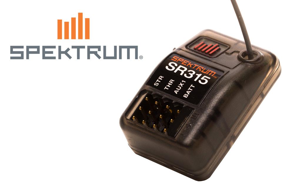 Spektrum<sup  /></sup>™</sup> SR315 Dual Protocol Receiver