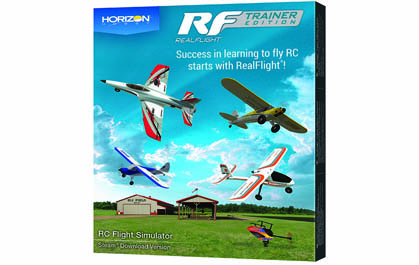 BONUS: Includes RealFlight Trainer Edition and Spektrum WS2000 Dongle