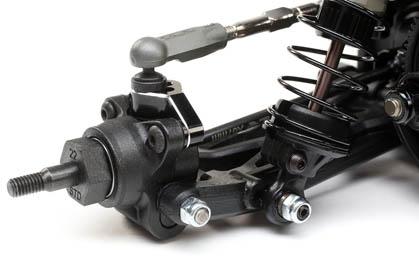 VHA Rear Hubs and Adjustable Inner Rear Pivots