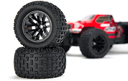 FORTRESS MONSTER TRUCK TIRE DESIGN