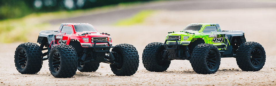 GRANITE™ 4X4 MEGA 550 Monster Truck RTR