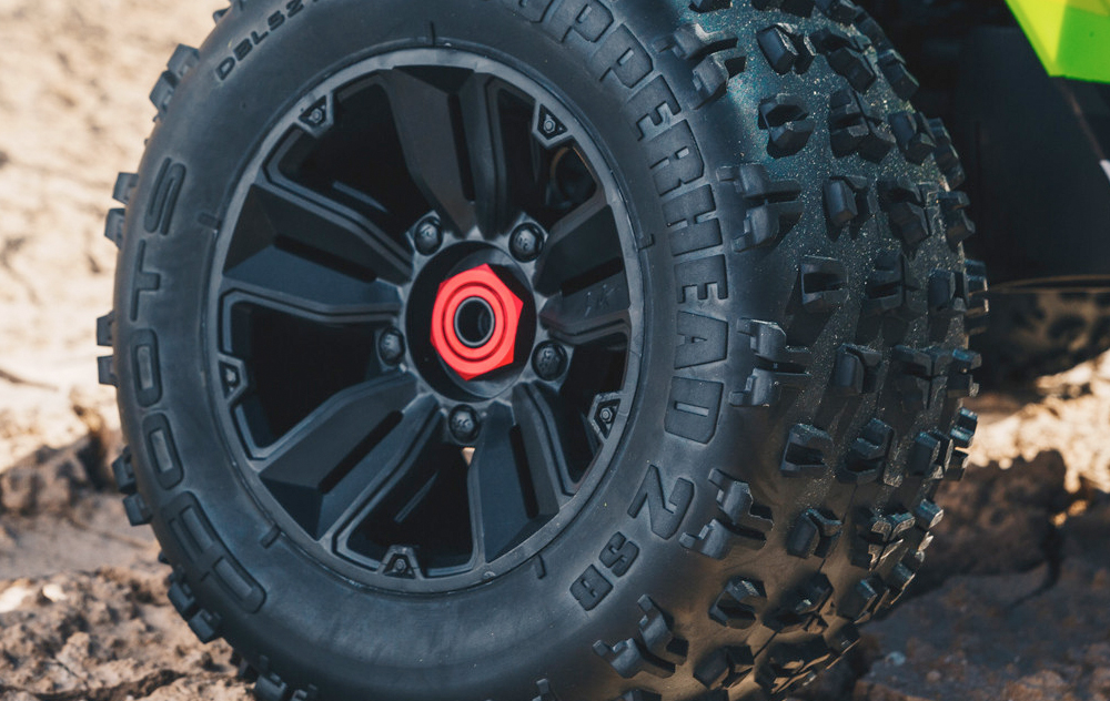 SPLIT-SPOKE WHEELS & MULTI-TERRAIN DBOOTS COPPERHEAD 2 SB TIRES