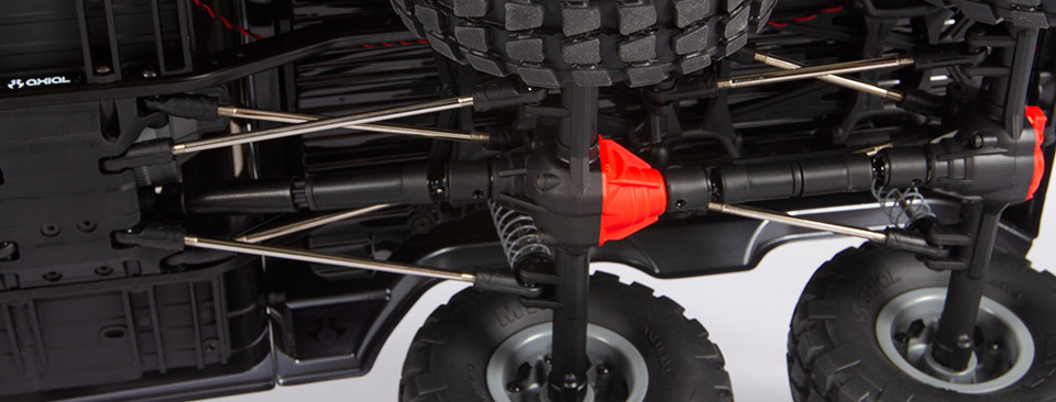 TANDEM REAR AR44™ AXLES