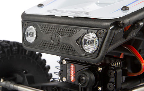 GRILLE AND HEADLIGHT BUCKETS
