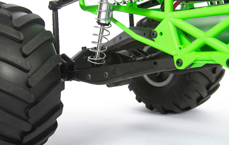 TRAILING ARM 4-LINKED REAR SUSPENSION
