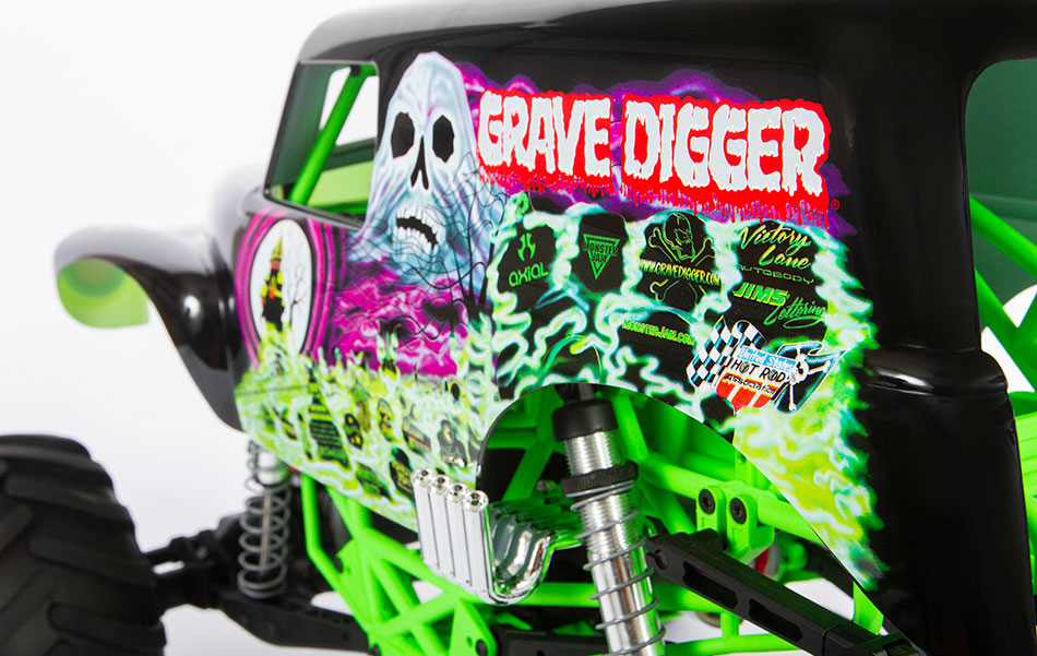 ICONIC GRAVE DIGGER BODY