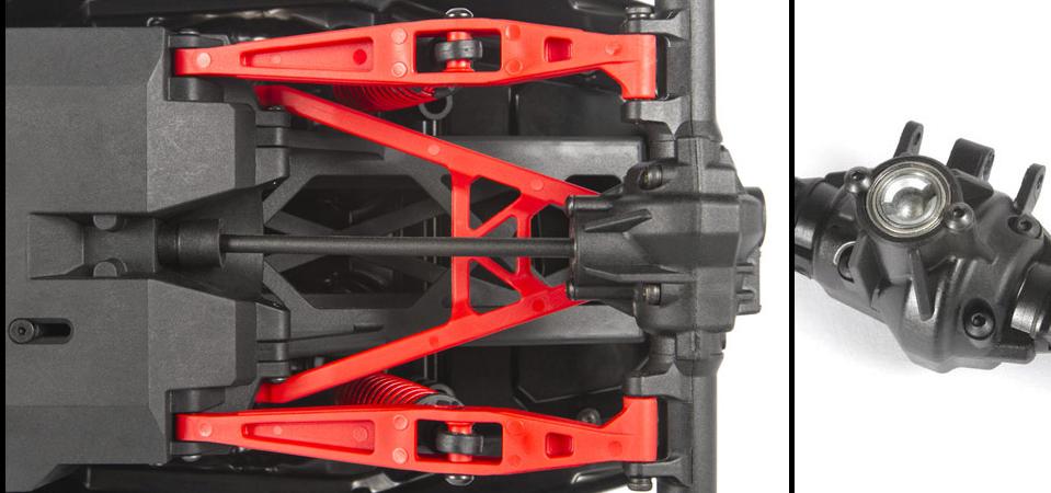 Centered Rear Driveshaft