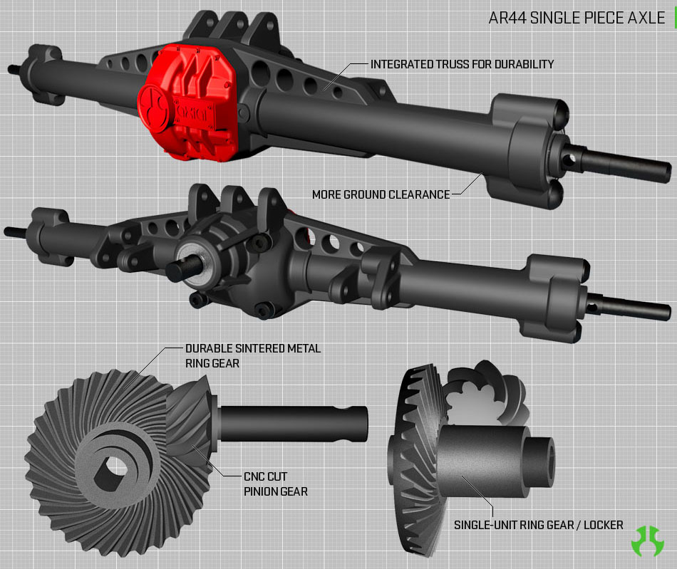 Ar44™ Hi-Pinion Axles