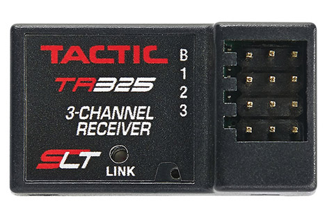 Tactic 3-Channel 2.4GHz Receiver