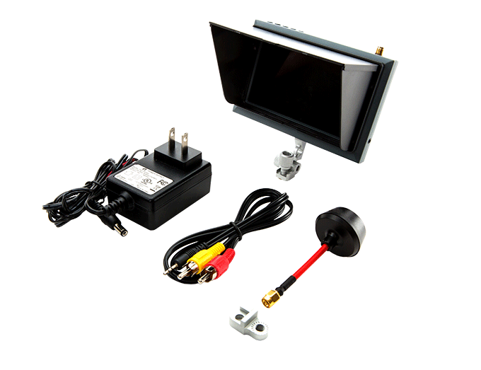 4.3 inch FPV Monitor Included